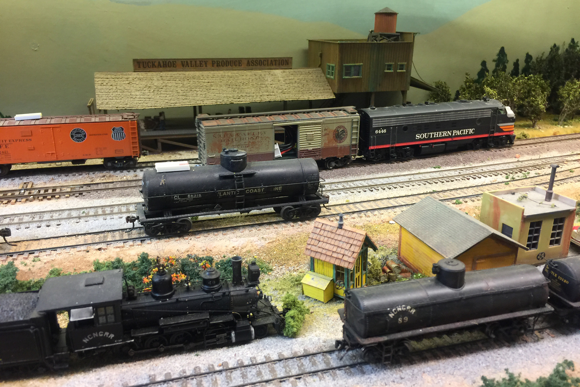 HO scale Dead Rail model layout by San Diego Division member.