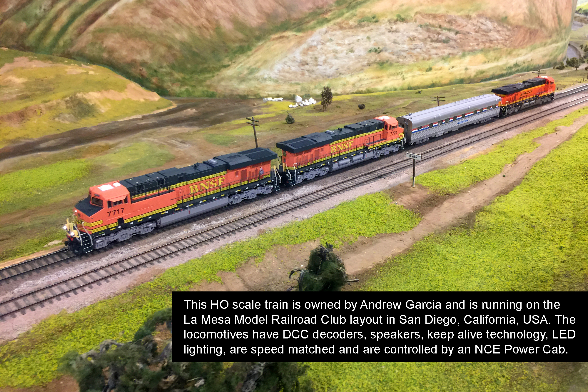 Locomotives owned by Andrew Garcia.