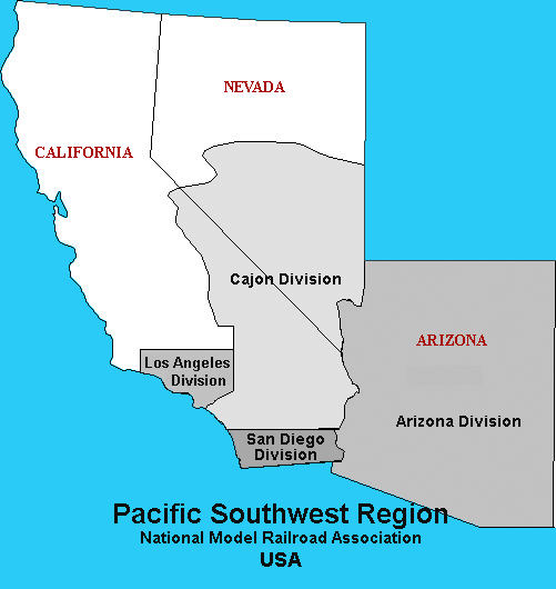 Pacific Southwest Region, National Model Railroad Association